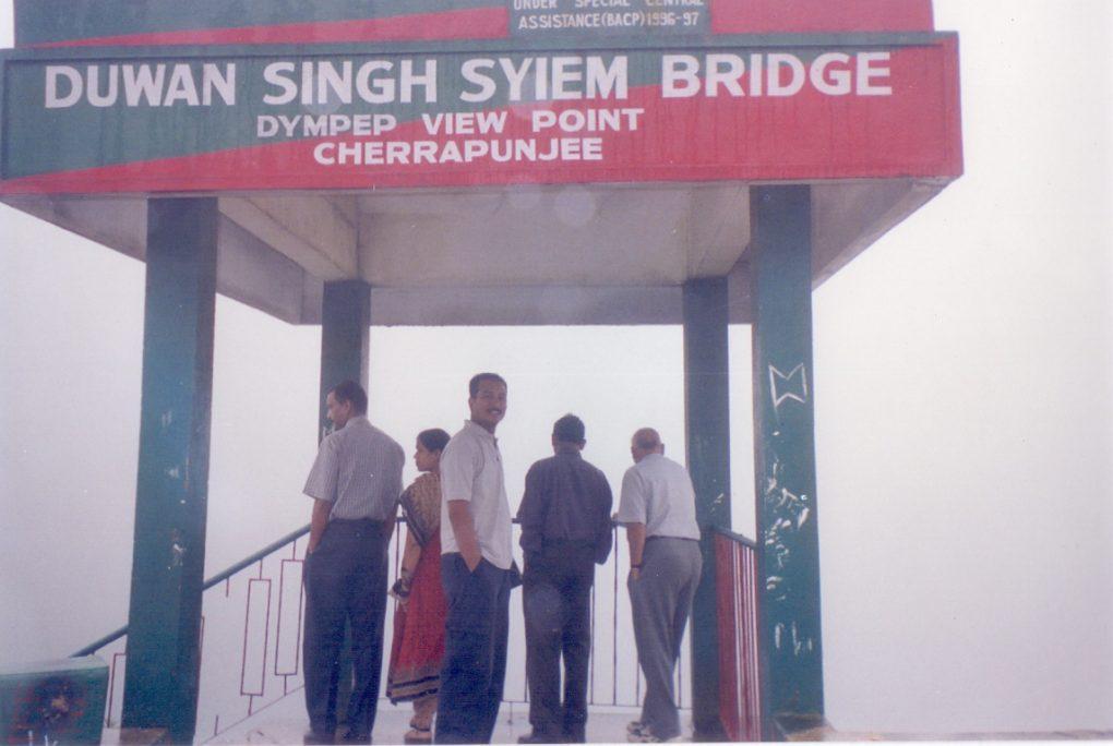 Duwan Singh Syiem Bridge, Cherrapunjee