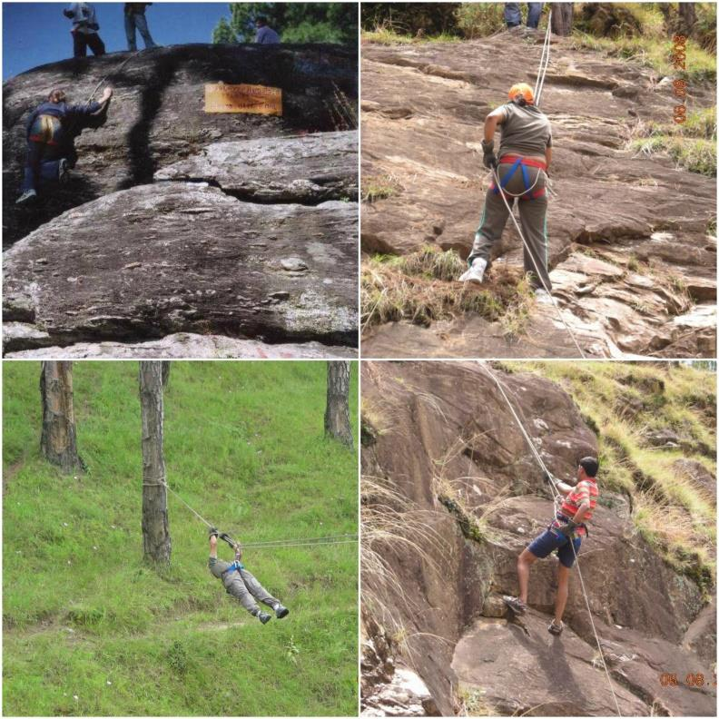 Adventure activities at Almora