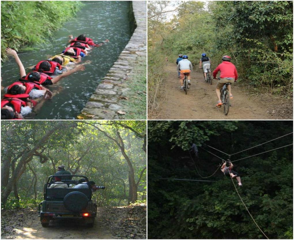 Adventure activities at Iris Spa and resort
