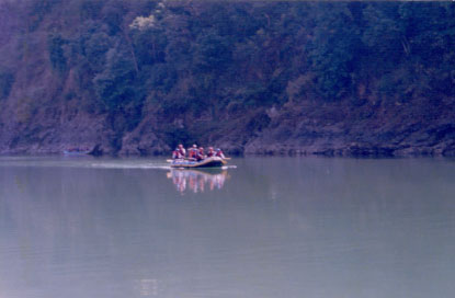 Water Rafting in Rishikesh