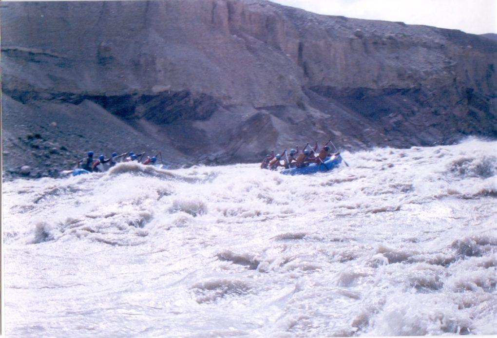 Rafting trip to Ladakh
