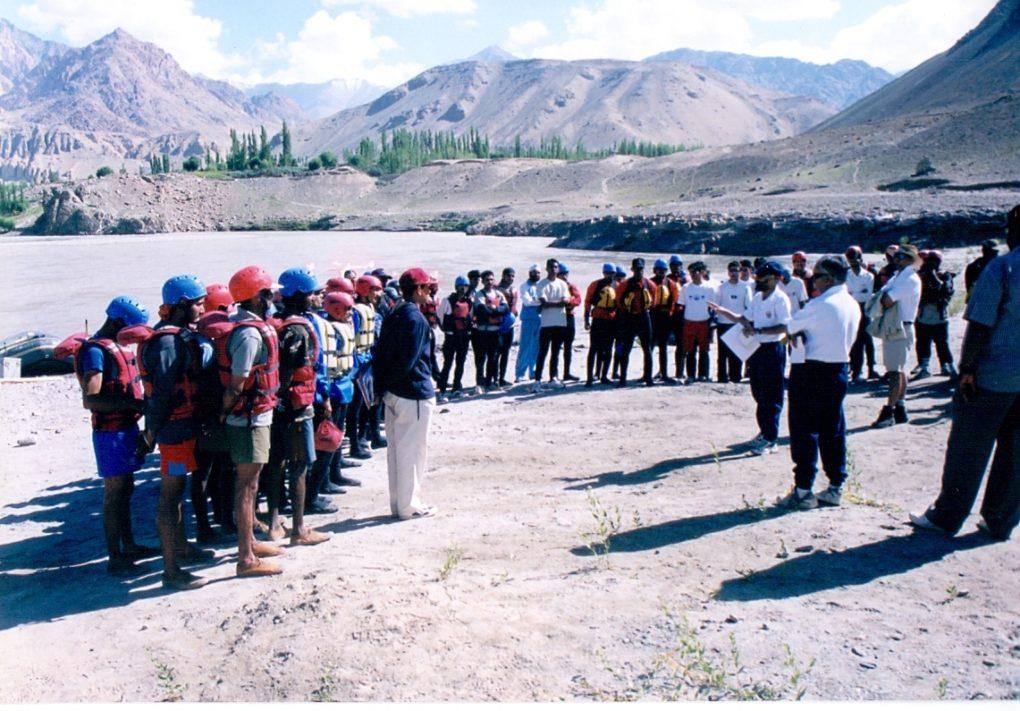 adventure training in ladakh