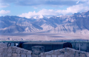 Scenic view of Ladakh