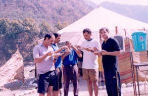 Camping in Rishikesh(2)