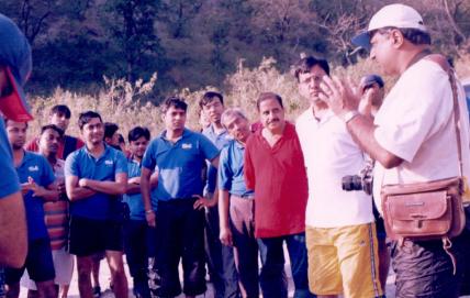 Rishikesh group tour(4)