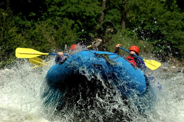 What is white water rafting