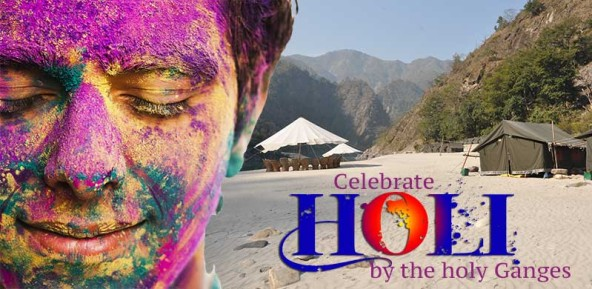 Celebrate Holi by the River Ganges
