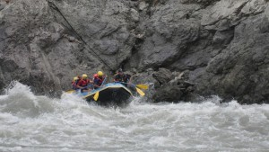 White water rafting with Camp Rapidfire, Rishikesh